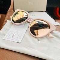 Dior 2020 new women's personality large frame polarized sunglasses
