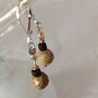 Picture Jasper Earrings One of a Kind
