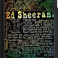 iPod 5 Case,Ed Sheeran Hard Snap-On Cover Case for iPod Touch 5, 5G (5th Generation)