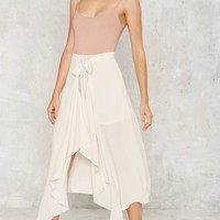 Wrapped in Excellence Asymmetric Skirt