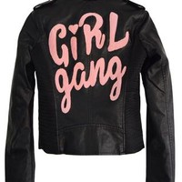 Girl Gang Motto Jacket