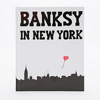 Banksy in New York Book - Urban Outfitters