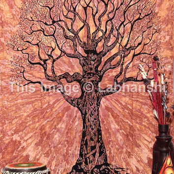 Native Purity Tree Of Life Tapestries , Tie dye Tapestries , Bohemian Boho Tapestry , Dorm Tapestry ,Wall Tapestries, Tapestry Wall Hanging