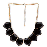 Elegant Evening Statement Necklace