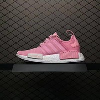 Adidas NMD Pink Women Sports Running Shoes