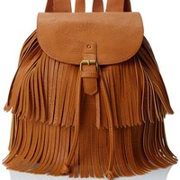 LuLu Fringe Backpack
