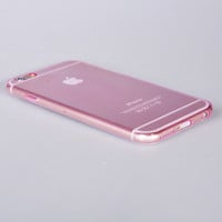For Apple iPhone 6s 6 Plus Case Slim Transparent Clear Soft Cover Rubber Pink