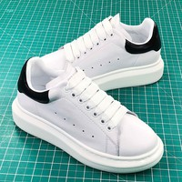 Alexander Mcqueen Sole White Black Sneakers - Best Online Sale