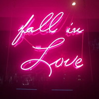 New Fall In Love Neon Art Sign Handmade Visual Artwork Home Wall Decor Light