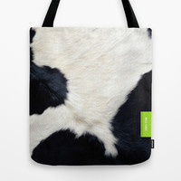100%  COW Tote Bag by 7535C