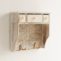 Painted Woodblock Wall Shelf | Urban Outfitters