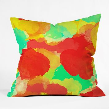 Rebecca Allen Dreamlife Throw Pillow