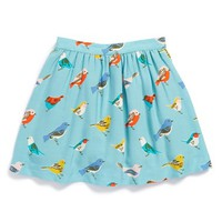 Toddler Girl's Mini Boden Pretty Printed Skirt