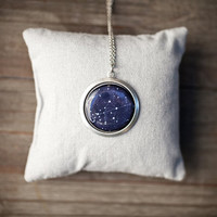 Personalized Zodiac necklace - Constellation necklace - Pick your sign