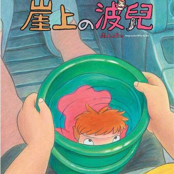 Ponyo on the Cliff (Chinese) 11x17 Movie Poster (2008)