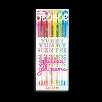 Yummy Yummy Scented Colored Glitter Gel Pens