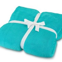 All For Color Turquoise Cozy Fleece