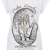 Palm Reading Tee By Tee And Cake - T-Shirts - Jersey Tops - Clothing - Topshop