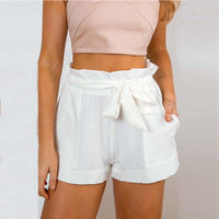 Women's Fashion Summer High Waist Shorts [9430663044]