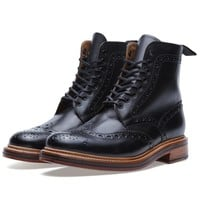 Grenson Fred Brogue Derby Boot