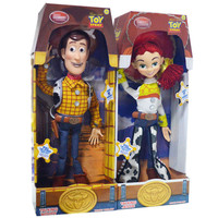 Toy Story 3 45cm Talking Woody Jessie PVC Action Figure Collectible Model Toy Doll