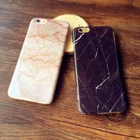 Marble Grain Hard Case for iPhone