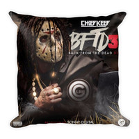 """""""Back From The Dead III"""" (18x18) All Over Print/Dye Sublimation Chief Keef Couch Throw Pillow Insert & Pillow Case/Cover"""