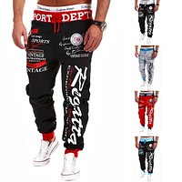 Trousers Good Quality Baggy Mens Letter Printing Baggy Harem Cool Long Pants Joggers Wear 21 Styles Plus Size M-XXXL Drawstring