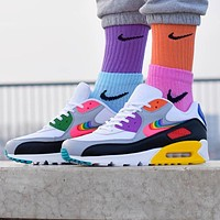 NIKE AIR MAX 90 BETRUE men's and women's high-quality mesh breathable running shoes
