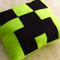 Minecraft Creeper Pillow - 16 Inches