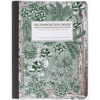Walmart: Succulent Garden Decomposition Book: College-ruled Composition Notebook With 100% Post-consumer-waste Recycled Pages