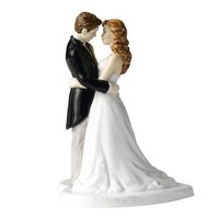 Royal Doulton Our Wedding Day Cake Topper