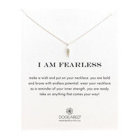I Am Fearless Make A Wish, Sterling Silver   Dogeared