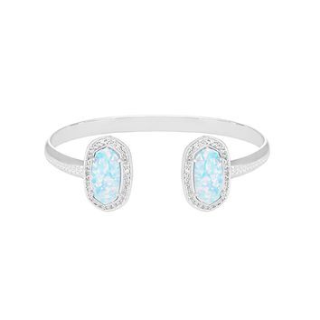 Erica Bracelet in Ice Blue Kyocera Opal - Kendra Scott Jewelry