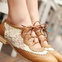 Vintage Lace Shoes from sniksa