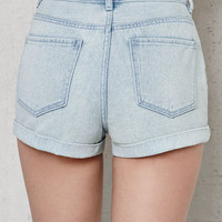 PacSun Charlene Denim Mom Shorts at PacSun.com
