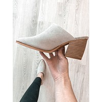 Maggie Mules (Taupe Suede)