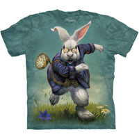 WHITE RABBIT Alice In Wonderland The Mountain T-Shirt S-3XL NEW