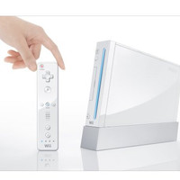 White Nintendo Wii System - Wii (Pre-owned)