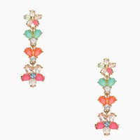 GIVERNY FLORAL linear earrings