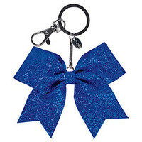New Collectable Glittery Miniature Bow Keychain by Chasse