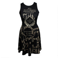 Harry Potter Marauder's Map Juniors Dress | WBshop.com | Warner Bros.