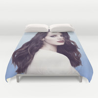 Del Rey Lana Duvet Cover by Hands In The Sky