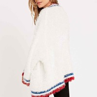 UNIF Commence Cardigan in White - Urban Outfitters