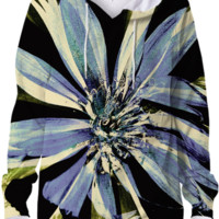 Mod Floral Dress Hoodie created by Indepth Designs   Print All Over Me