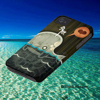 IPhone5 IPhone4 IPhone4S Case -Whale draw Full case