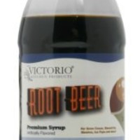 Victorio 16-Ounce Shaved Ice/Snow Cone Syrup, Root Beer