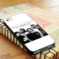 Fifth Harmony Work From Home iPhone 4SCase Sintawaty.com