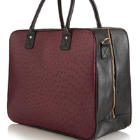 Ostrich Zip Around Holdall - New In This Week - New In - Topshop