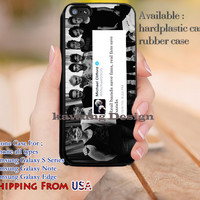 Real Bands Save Fans Michael Clifford iPhone 6s 6 6s+ 5c 5s Cases Samsung Galaxy s5 s6 Edge+ NOTE 5 4 3 #music #5sos dl12